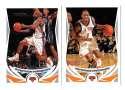 2004-05 Topps Basketball Team Set - New York Knicks