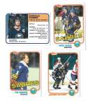 1981-82 Topps Hockey Team Set - Buffalo Sabres
