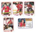 1981-82 Topps Hockey Team Set - Chicago Blackhawks