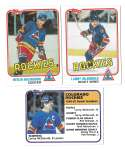 1981-82 Topps Hockey Team Set - Colorado Rockies