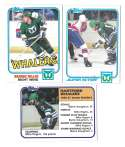 1981-82 Topps Hockey Team Set - Hartford Whalers