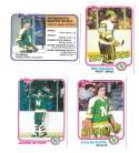 1981-82 Topps Hockey Team Set - Minnesota North Stars