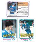 1981-82 Topps Hockey Team Set - Quebec Nordiques