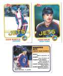1981-82 Topps Hockey Team Set - Winnipeg Jets