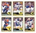 2012-13 O-Pee-Chee (1-500) Hockey Team Set - Edmonton Oilers