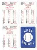 1936 APBA Season - NEW YORK YANKEES Team Set