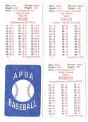 1936 APBA Season - ST LOUIS CARDINALS Team Set