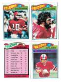 1977 Topps Football (C) Team Set - ATLANTA FALCONS