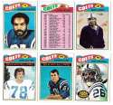 1977 Topps Football (C) Team Set - BALTIMORE COLTS