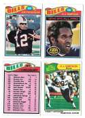 1977 Topps Football (C) Team Set - BUFFALO BILLS Read