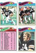 1977 Topps Football (C) Team Set - CINCINNATI BENGALS� Read