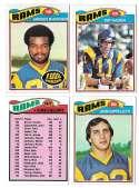 1977 Topps Football (C) Team Set - LOS ANGELES RAMS