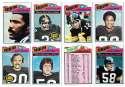 1977 Topps Football (C) Team Set - PITTSBURGH STEELERS��