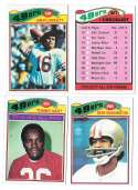 1977 Topps Football (C) Team Set - SAN FRANCISCO 49ERS� Read