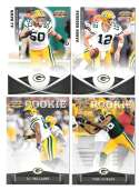 2011 Panini Gridiron Gear (1-250) Football - GREEN BAY PACKERS