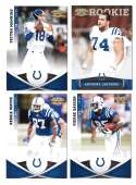 2011 Panini Gridiron Gear (1-250) Football - INDIANAPOLIS COLTS
