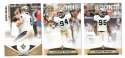 2011 Panini Gridiron Gear (1-250) Football - NEW ORLEANS SAINTS