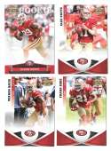2011 Panini Gridiron Gear (1-250) Football - SAN FRANCISCO 49ERS