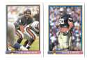 1991 Bowman Football Team Set - CHICAGO BEARS