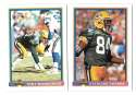 1991 Bowman Football Team Set - GREEN BAY PACKERS
