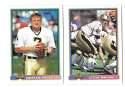 1991 Bowman Football Team Set - NEW ORLEANS SAINTS