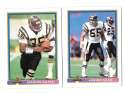 1991 Bowman Football Team Set - SAN DIEGO CHARGERS