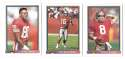 1991 Bowman Football Team Set - SAN FRANCISCO 49ERS