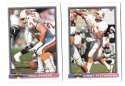 1991 Bowman Football Team Set - TAMPA BAY BUCCANEERS