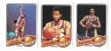 1979-80 Topps Basketball Team Set - Los Angeles Lakers