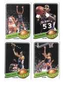 1979-80 Topps Basketball Team Set - Philadelphia 76ers