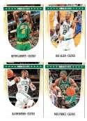 2011-12 Hoops Basketball Team Set - Boston Celtics