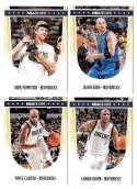 2011-12 Hoops Basketball Team Set - Dallas Mavericks