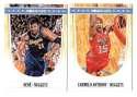2011-12 Hoops Basketball Team Set - Denver Nuggets