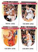 2011-12 Hoops Basketball Team Set - Los Angeles Clippers