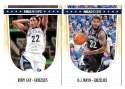 2011-12 Hoops Basketball Team Set - Memphis Grizzlies