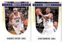 2011-12 Hoops Basketball Team Set - Sacramento Kings