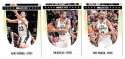 2011-12 Hoops Basketball Team Set - San Antonio Spurs