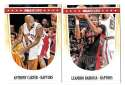 2011-12 Hoops Basketball Team Set - Toronto Raptors