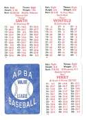 1979 APBA Season - SAN DIEGO PADRES Team Set w/ Ozzie Smith