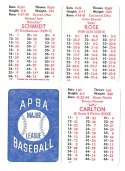 1979 APBA Season w/ Extra Players - PHILADELPHIA PHILLIES Team Set