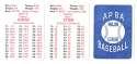 1979 APBA Season w/ Extra Players - TORONTO BLUE JAYS Team Set