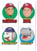 2016 Topps Heritage Minors '67 Topps Stickers - PHILADELPHIA PHILLIES