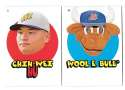 2016 Topps Heritage Minors '67 Topps Stickers - TAMPA BAY RAYS