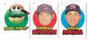 2016 Topps Heritage Minors '67 Topps Stickers - BOSTON RED SOX