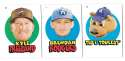 2016 Topps Heritage Minors '67 Topps Stickers - COLORADO ROCKIES