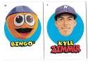 2016 Topps Heritage Minors '67 Topps Stickers - KANSAS CITY ROYALS
