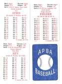 1986 APBA Season w/ EX Players - TORONTO BLUE JAYS Team Set