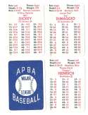 1941 APBA Season - NEW YORK YANKEES Team Set
