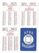 1941 APBA Season - ST LOUIS CARDINALS Team Set