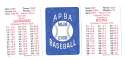 1947 APBA Season - PHILADELPHIA PHILLIES Team Set